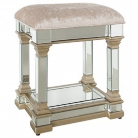 Livorno Mirrored Stool