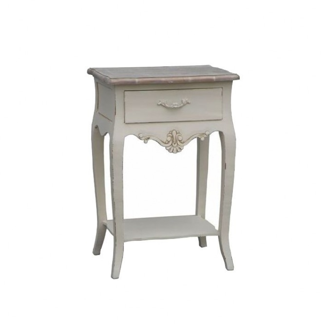 Loire Antique French Style Lamp Table