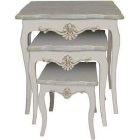 Loire Antique French Style Nest Of Tables
