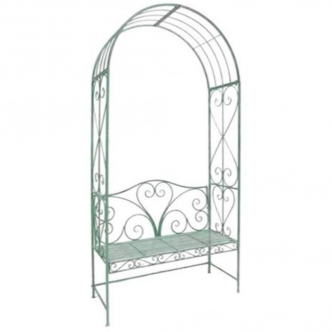 Loire Antique French Style Outdoor Arbour Bench