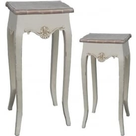 Loire Antique French Style Plant Stands