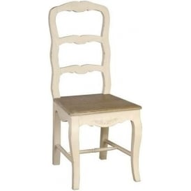 Loire Ladder Back Antique French Style Chair