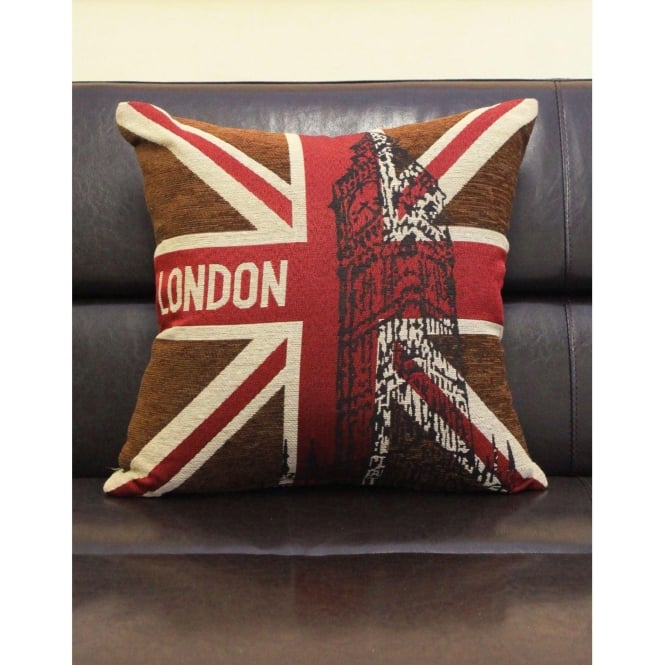 London British Union Jack Cushion