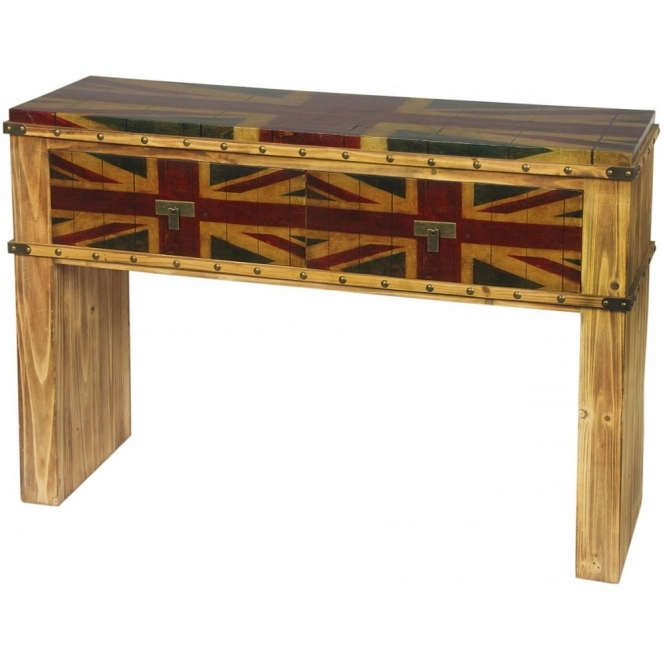 London Calling Shabby Chic Console Table