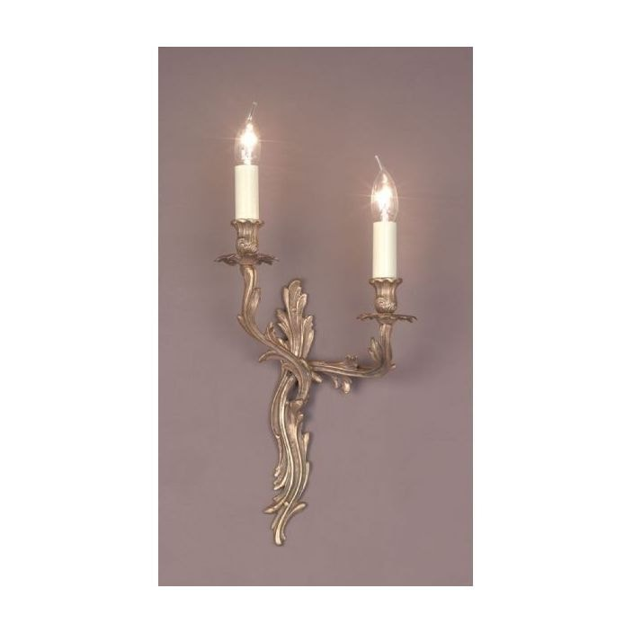 Louis brass antique french style wall light wall lights from louis brass antique french style wall light aloadofball Images