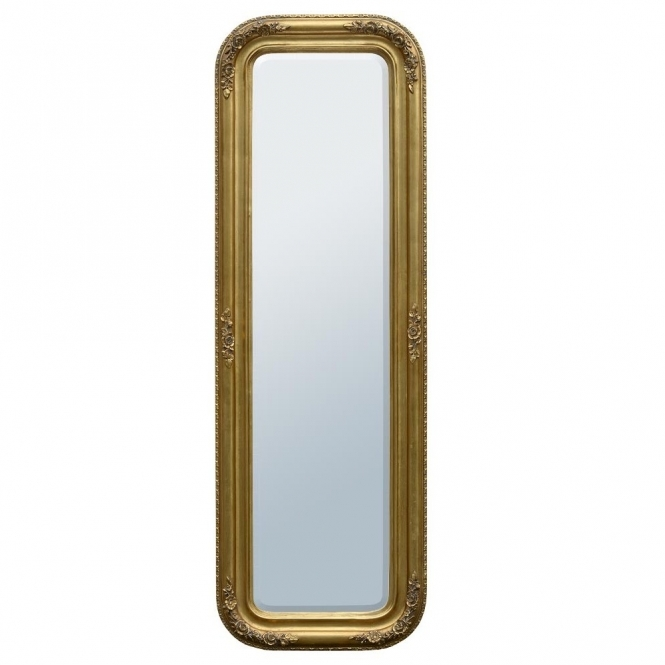 Louis Philippe Gold Antique French Style Mirror