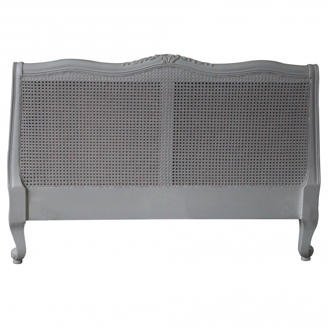 Louis XV Rattan Antique French Style Headboard