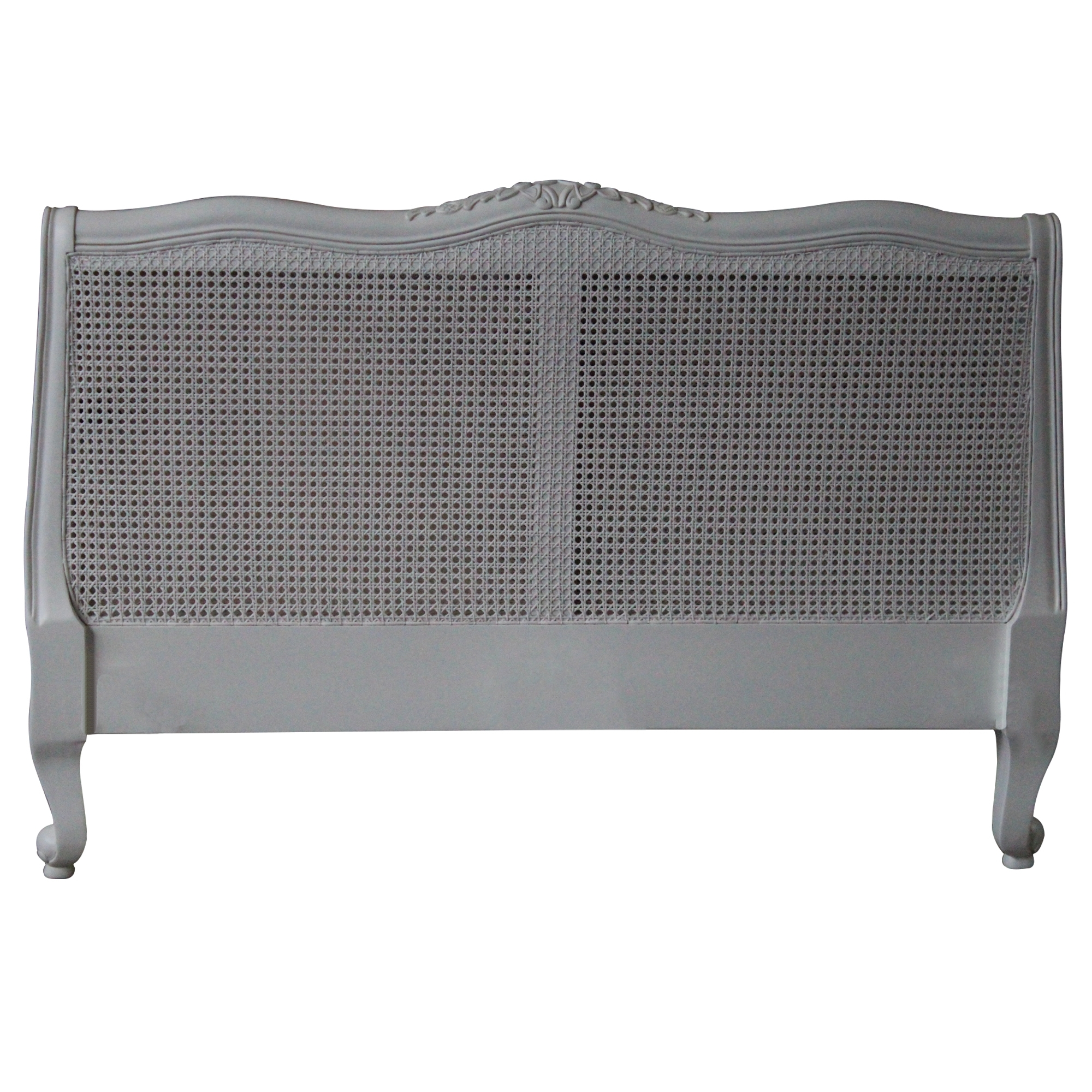 Louis Xv Rattan Antique French Headboard To Compliment Our Stunning Shabby Chic Furniture