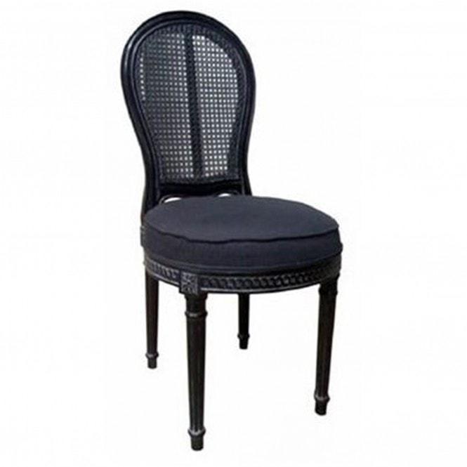 Louis XVI Rattan Antique French Style Chair