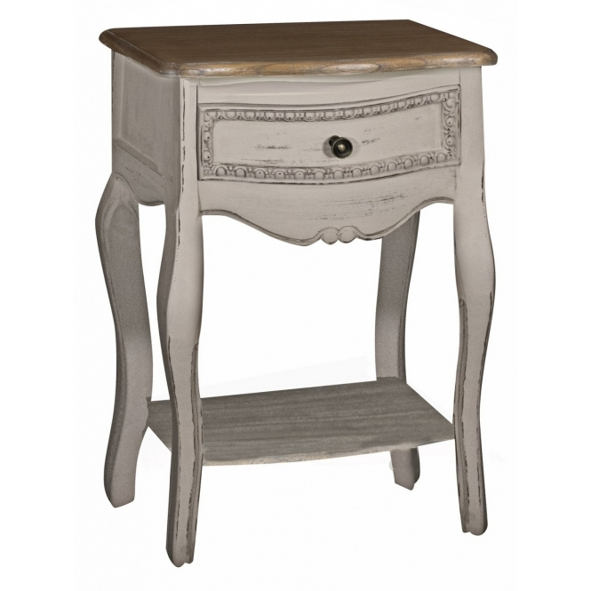 Louisa Antique French Style Bedside Table