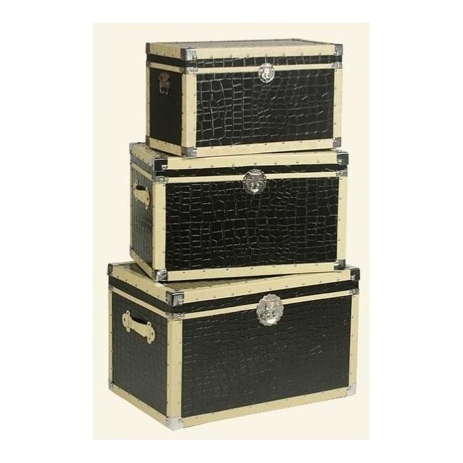 Lounge Lizard Set Of 3 Trunks