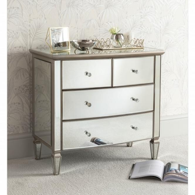 Louvre Mirrored Chest of Drawers