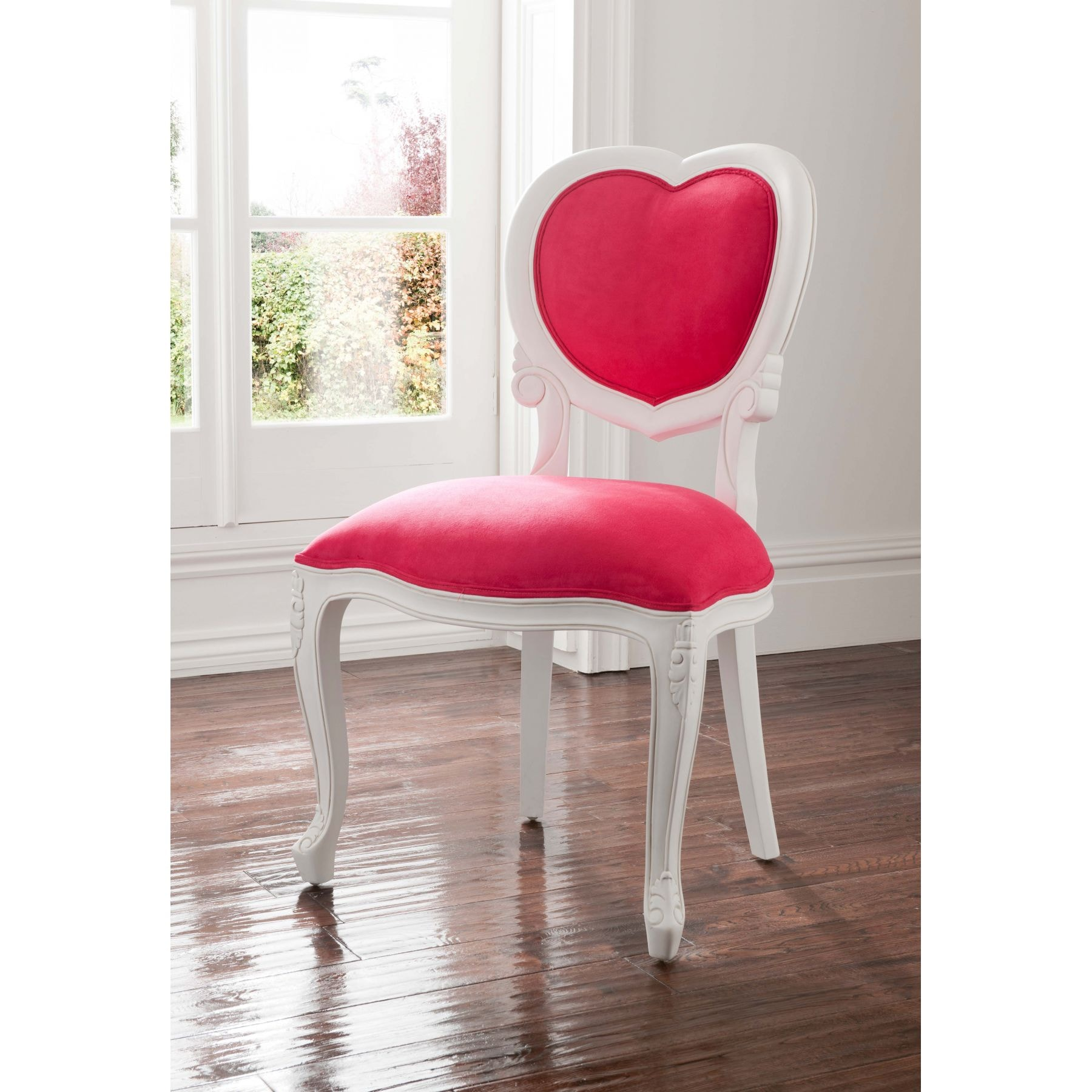 Pink Antique French Love Heart Chair Is A Must Have