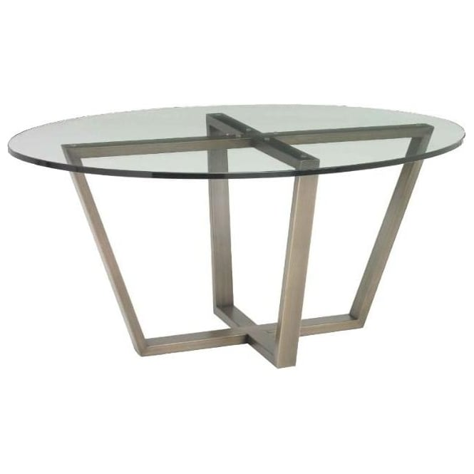 Luisa Brass Coffee Table