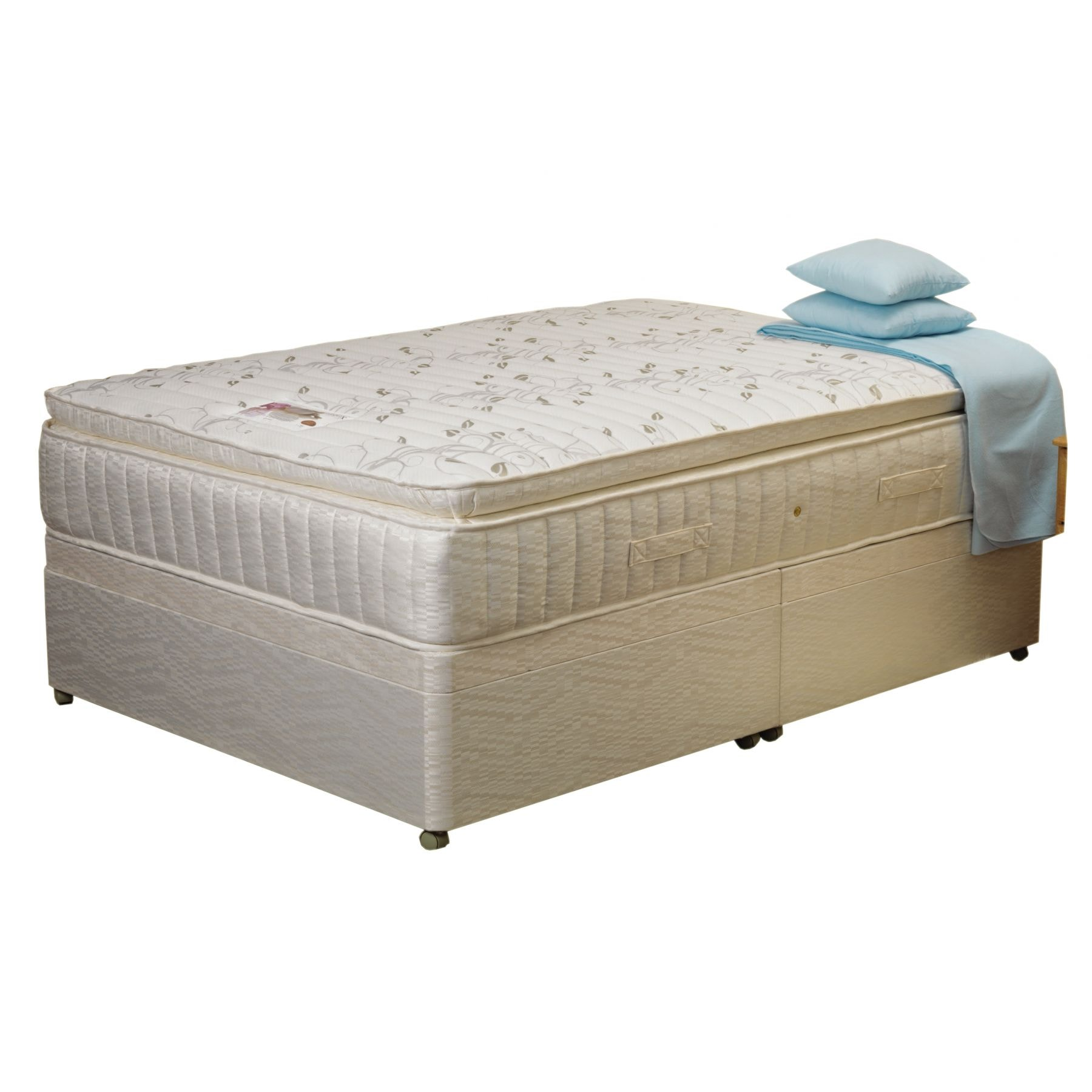 Lullatex 1200 divan base mattress for Divan bed base sale