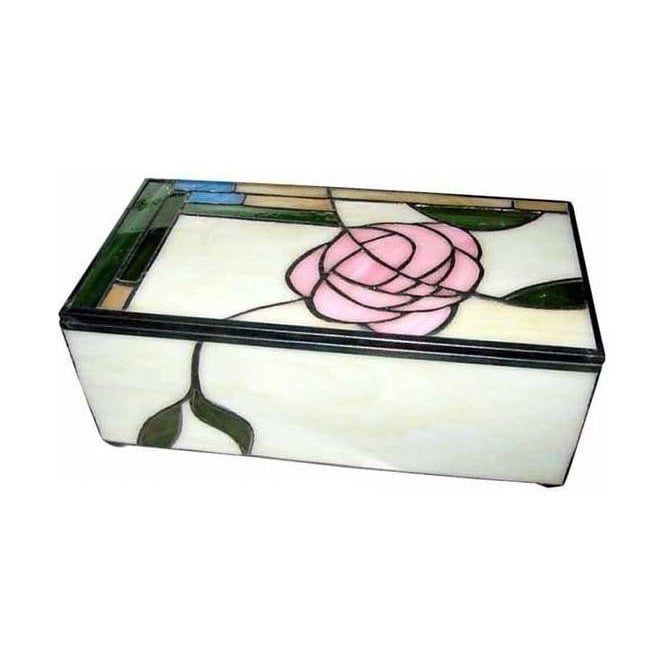 Macintosh Style Tiffany Jewellery Box