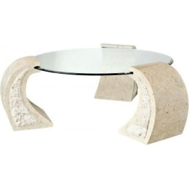 Mactan Stone Coffee Table