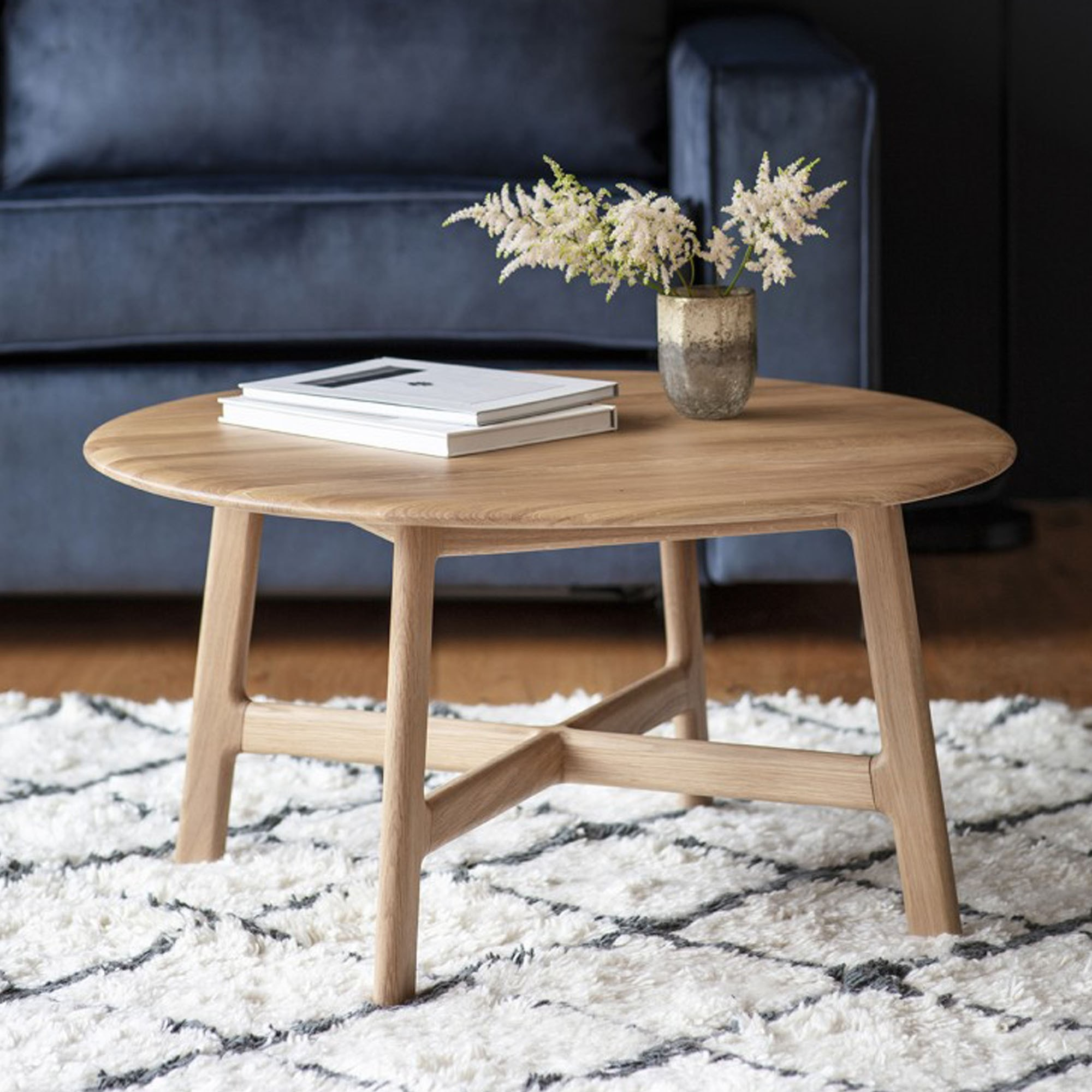 Madrid Round Coffee Table Wooden Coffee Table Coffee Tables