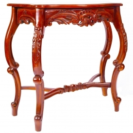 Mahogany Antique French Style Console Table
