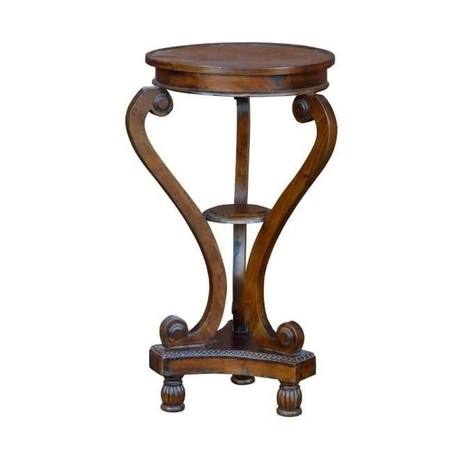 Mahogany Antique French Style Round Table