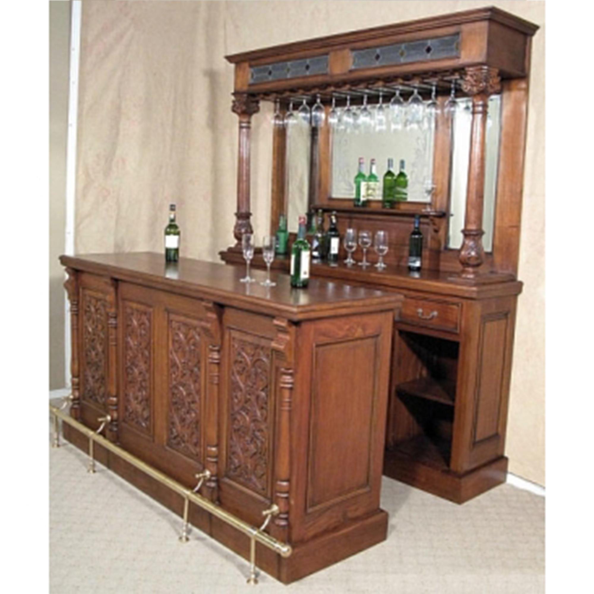 Mahogany Bar French Furniture From Homesdirect 365 Uk