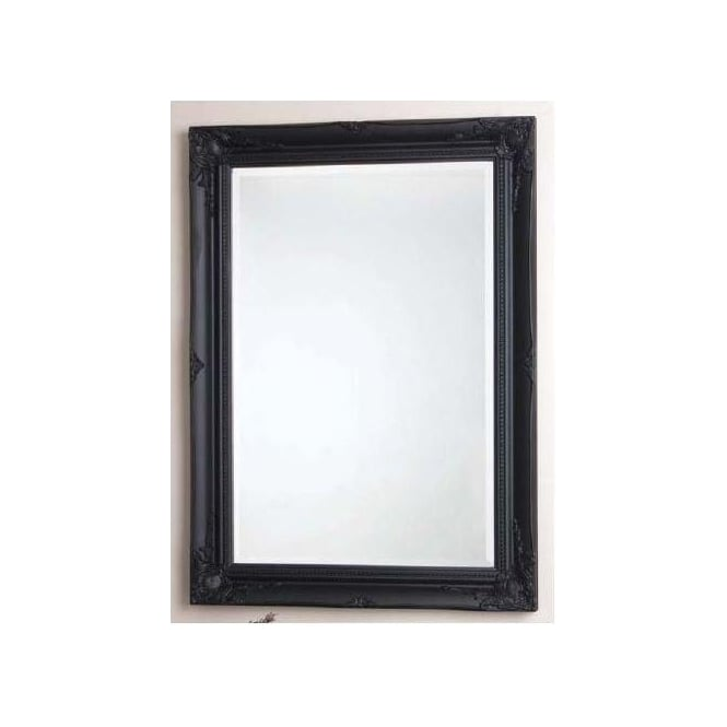 Maissance Antique French Style Mirror Black