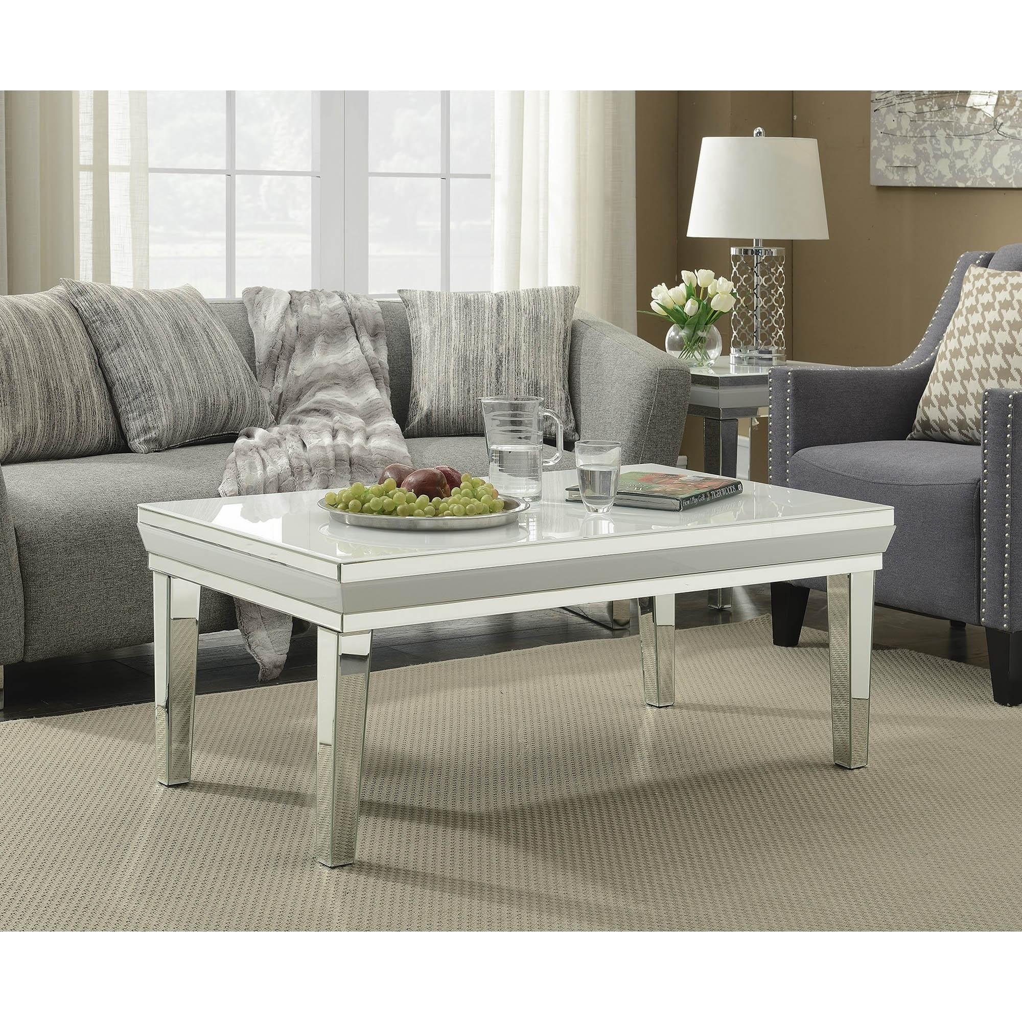 Astounding Malibu Mirrored Coffee Table Dailytribune Chair Design For Home Dailytribuneorg