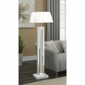 Malibu Mirrored Floorstanding Lamp