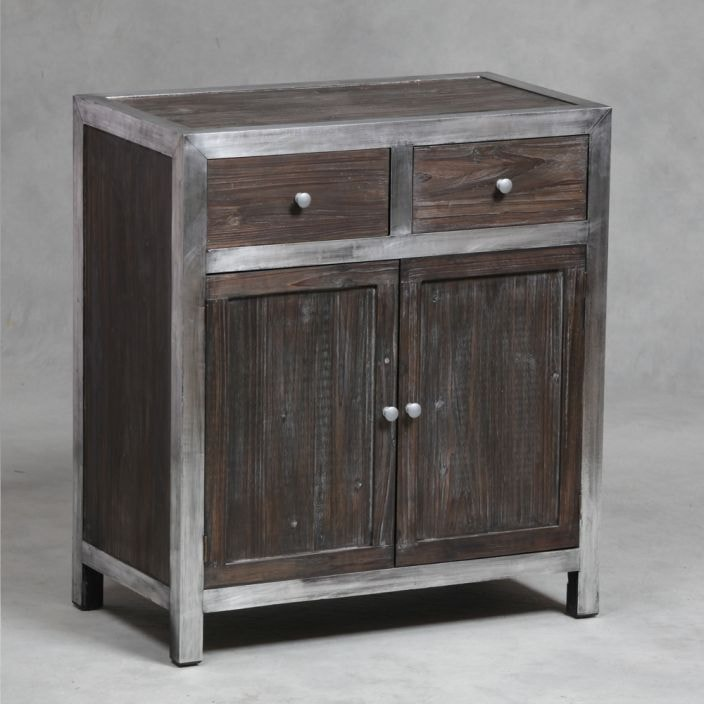 Superbe Manhattan Large Industrial Side Cabinet