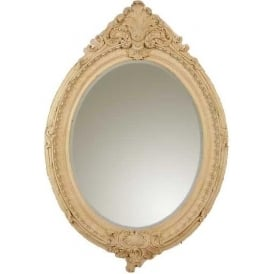 Marbeline Oval Antique French Style Mirror