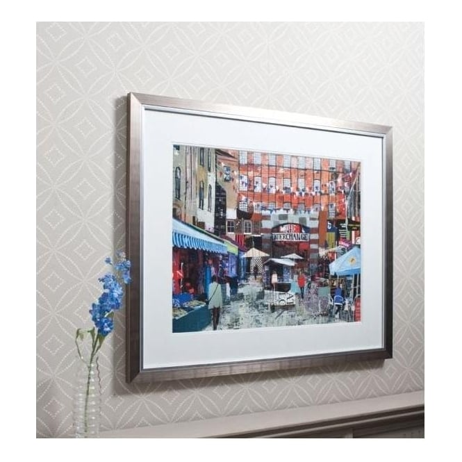 Market Day Framed Art