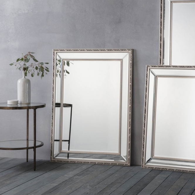 Marlebone Medium Pewter Wall Mirror