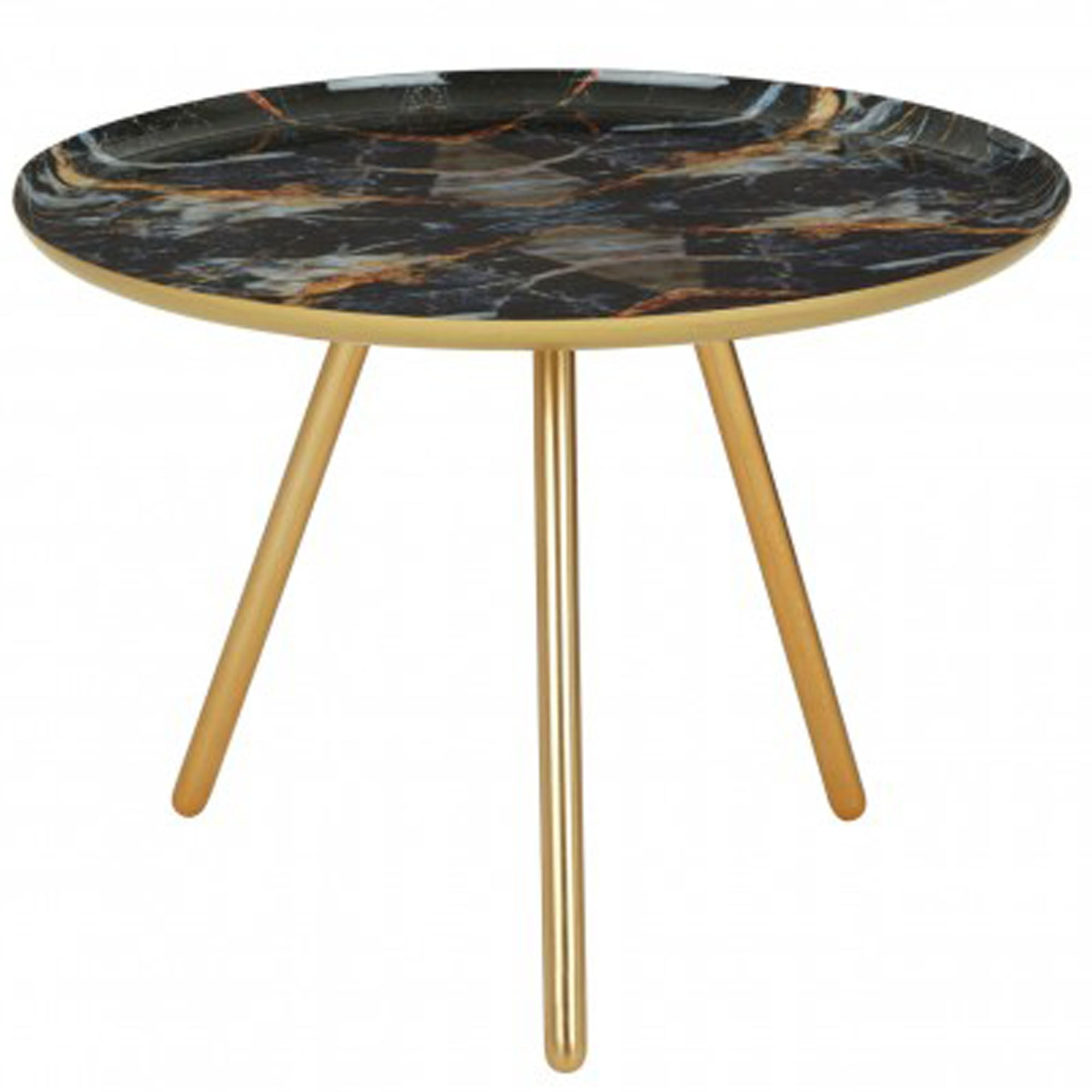 Marlox Faux Marble Side Table Modern Furniture Side Tables