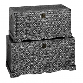 Marrakech Antique French Style Blanket Boxes