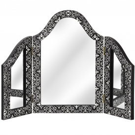 Marrakech Antique French Style Table Mirror