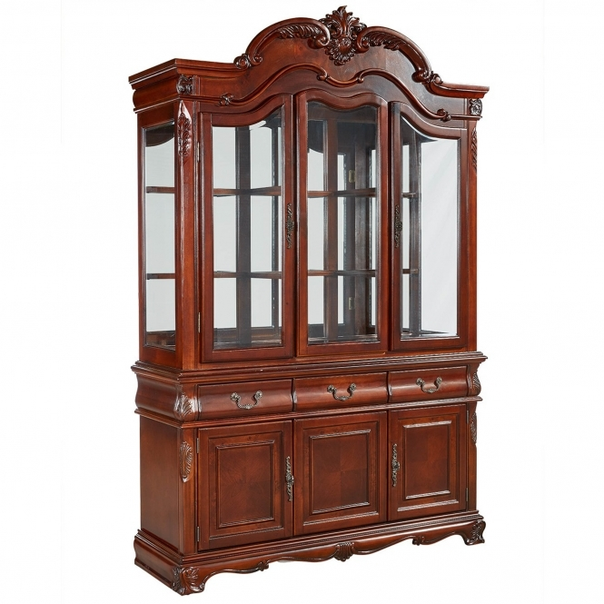 Marsais Antique French Style Display Cabinet