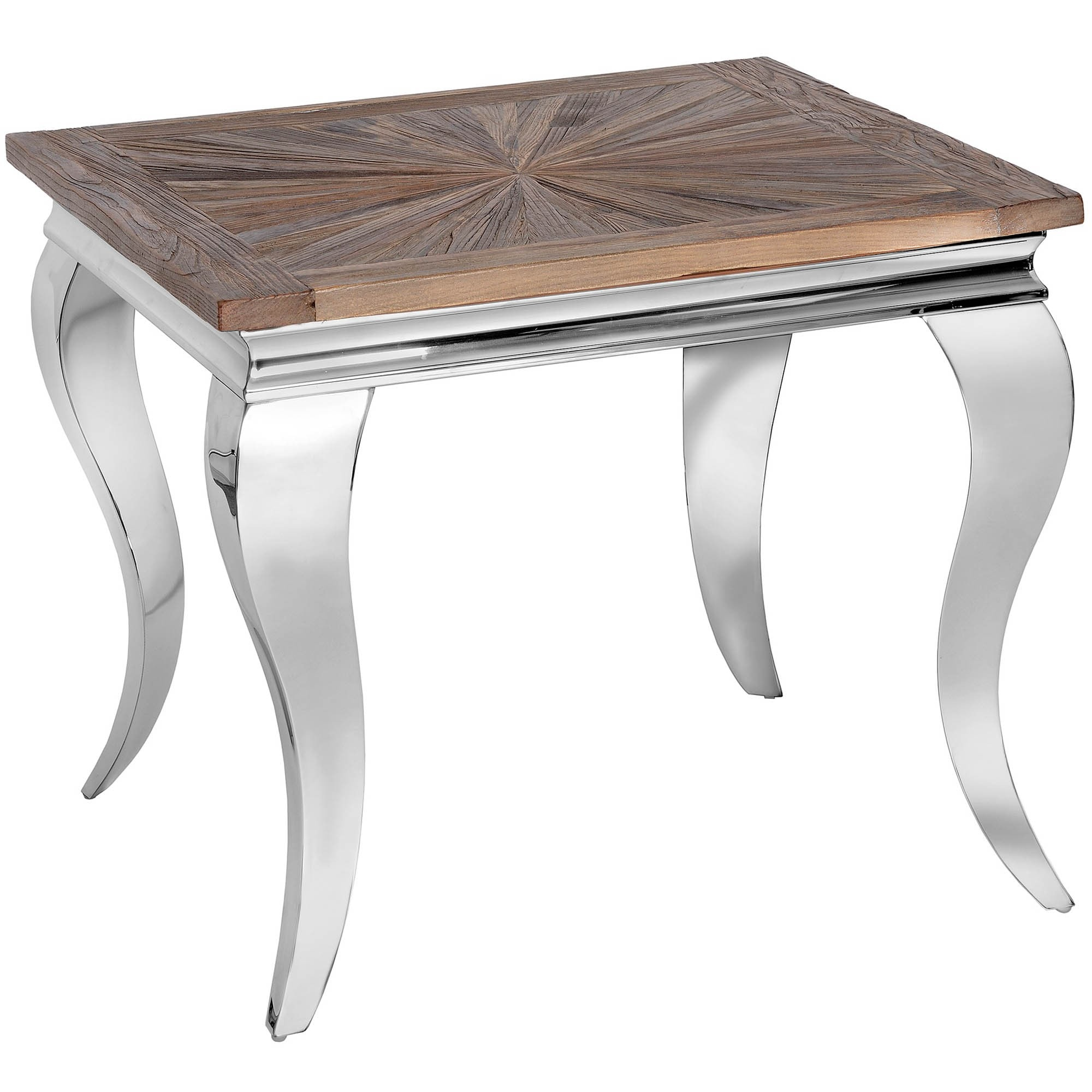 Mayfair Collection Reclaimed Elm Side Table Mayfair Collection
