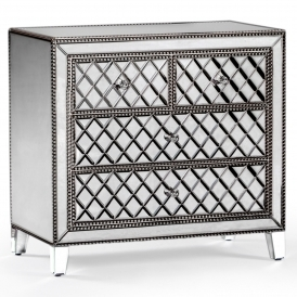 Mayfair Mirrored Chest of Drawers