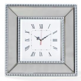 Mayfair Mirrored Wall Clock