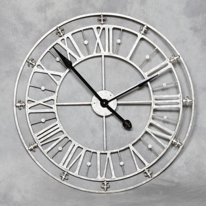Medium Antique French Style Wall Clock