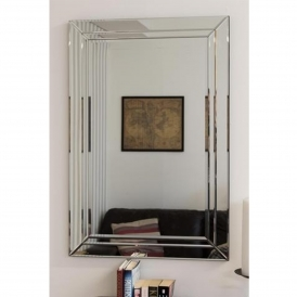 Medium Bevelled Edged Frameless Venetian Mirror