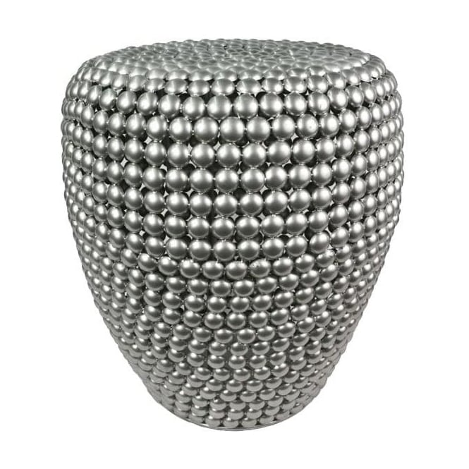 Metal Beaded Stool