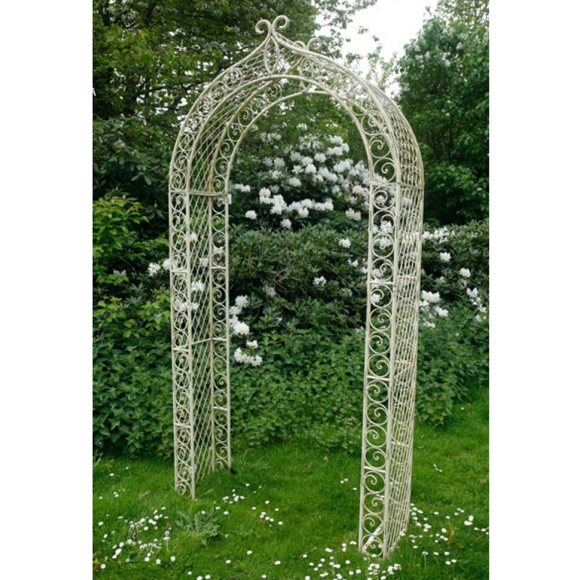 Metal Garden Trellis Archway French Furniture from Homesdirect 365 UK
