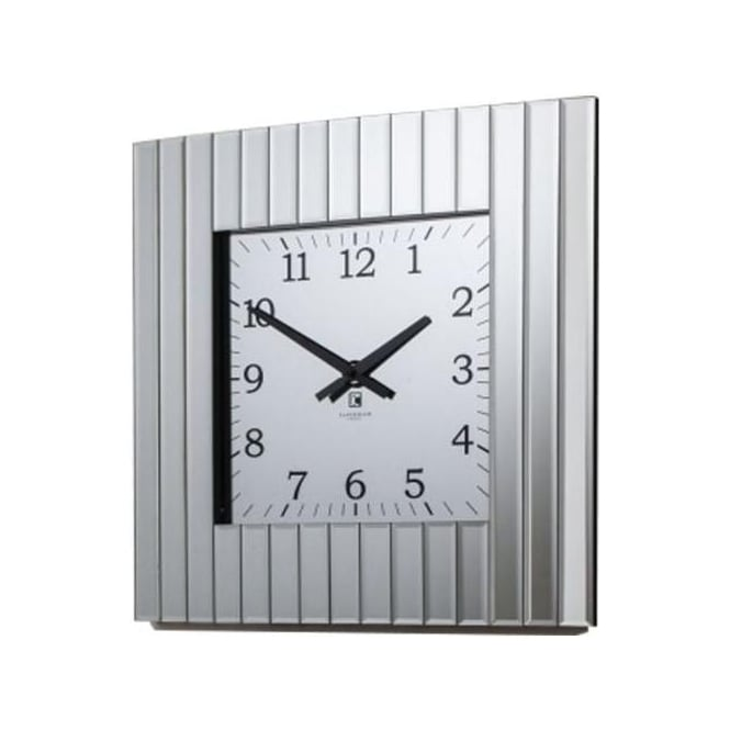 Metropolis Mirrored Wall Clock