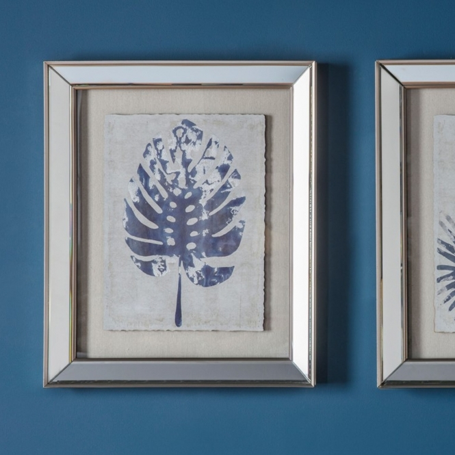 Midnight 1 Leaf Framed Art