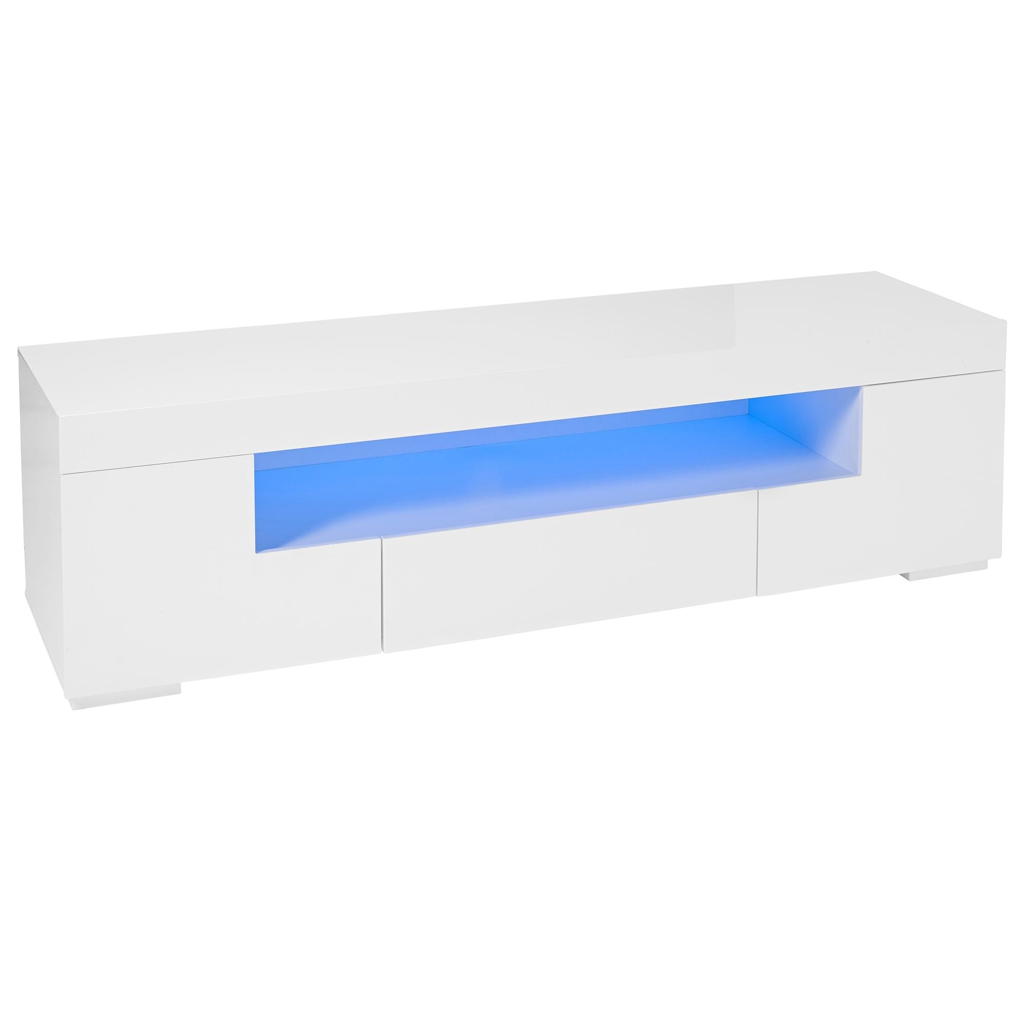 Milano led tv cabinet modern light up furniture for sale online now