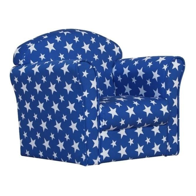 Mini White Stars Armchair
