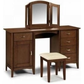 Minuet Twin Pedestal Dressing Table Set