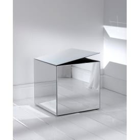 Mirrored Cube Storage Box