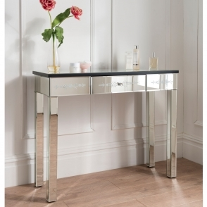 Mirrored Dressing Table Etched